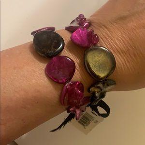 NWT Erica Lyons stretch bracelet